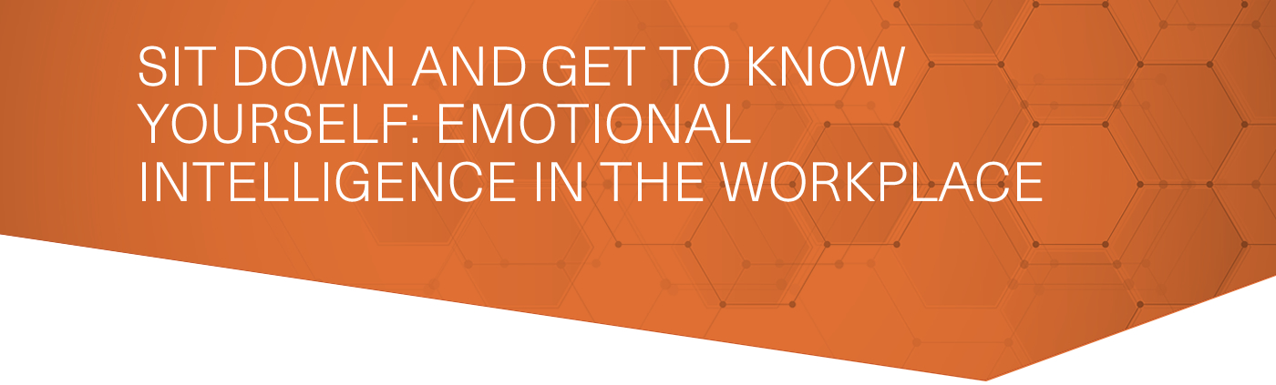 Sit Down and Get To Know Yourself: Emotional Intelligence in the Workplace